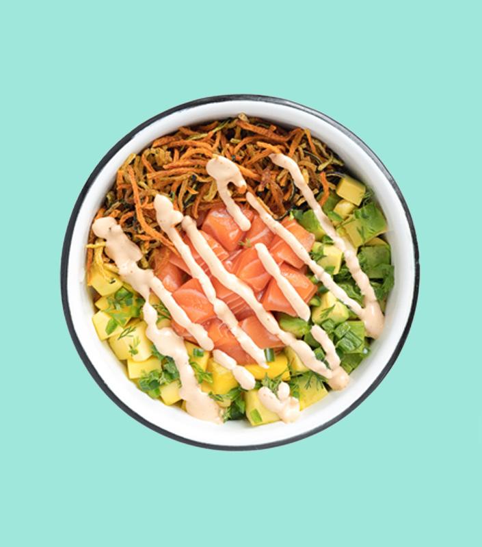 Poke bowl Luau
