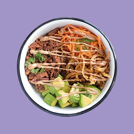 Poke Bowl Pulled Pork