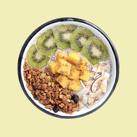 Chía pudín bowl